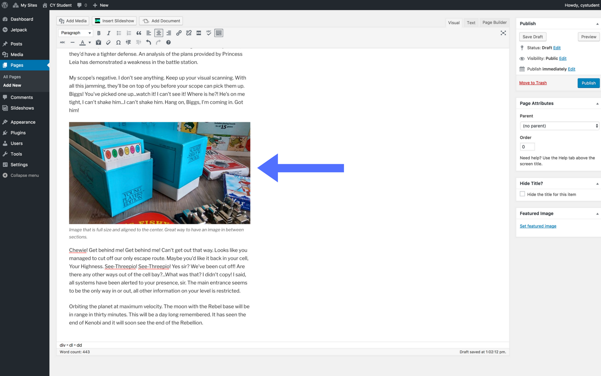 Adding images screenshot step 11