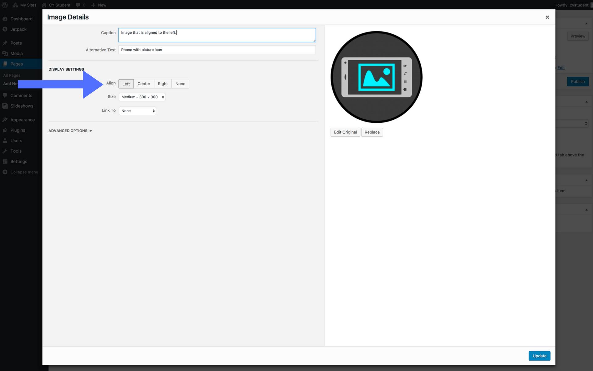 Adding images screenshot step 9